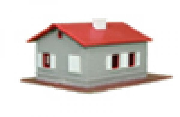 901 haus grau rot wei - Haus Grau Weis